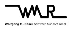 Logo Wolfgang M. Roser Software-Support GmbH